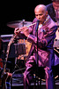 NEW YORK, NY - SEPTEMBER 24:  Jon Hendricks performs during the 2011 Jazz At Lincoln Center Opening Night Concert featuring Jon Hendricks & Jimmy Heath at the Rose Theater, Jazz at Lincoln Center on September 24, 2011 in New York City.  (Photo by Steve Mack/S.D. Mack Pictures) *** Local Caption *** Jon Hendricks
