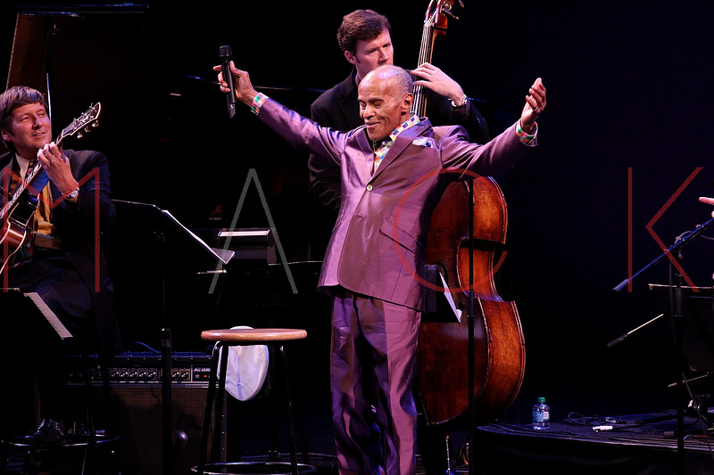 NEW YORK, NY - SEPTEMBER 24:  Jon Hendricks performs during the 2011 Jazz At Lincoln Center Opening Night Concert featuring Jon Hendricks & Jimmy Heath at the Rose Theater, Jazz at Lincoln Center on September 24, 2011 in New York City.  (Photo by Steve Mack/S.D. Mack Pictures) *** Local Caption *** Jon Hendricks