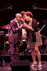 NEW YORK, NY - SEPTEMBER 24:  Jon Hendricks and Michelle Hendricks perform during the 2011 Jazz At Lincoln Center Opening Night Concert featuring Jon Hendricks & Jimmy Heath at the Rose Theater, Jazz at Lincoln Center on September 24, 2011 in New York City.  (Photo by Steve Mack/S.D. Mack Pictures) *** Local Caption *** Jon Hendricks; Michelle Hendricks