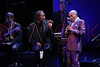 NEW YORK, NY - SEPTEMBER 24:  Bobby McFerrin and Jon Hendricks perform during the 2011 Jazz At Lincoln Center Opening Night Concert featuring Jon Hendricks & Jimmy Heath at the Rose Theater, Jazz at Lincoln Center on September 24, 2011 in New York City.  (Photo by Steve Mack/S.D. Mack Pictures) *** Local Caption *** Bobby McFerrin; Jon Hendricks