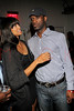 "NEW YORK, NY - SEPTEMBER 28:  Monica Watkins and Pras of ""The Fugees"" attend a Night of Art Music to benefit Haiti at the Red Bull Space on September 28, 2011 in New York City.  (Photo by Steve Mack/S.D. Mack Pictures) *** Local Caption *** Monica Watkins; Pras"