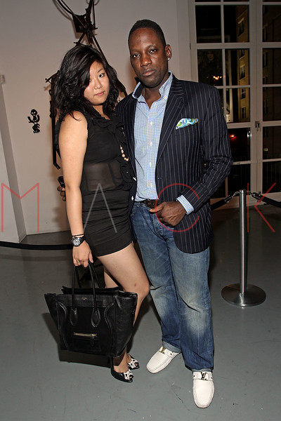 NEW YORK, NY - SEPTEMBER 28:  Jenny Kim and Mike Jean attend a Night of Art Music to benefit Haiti at the Red Bull Space on September 28, 2011 in New York City.  (Photo by Steve Mack/S.D. Mack Pictures) *** Local Caption *** Jenny Kim; Mike Jean