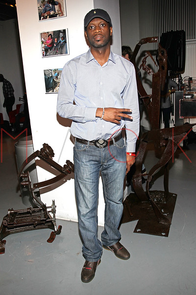"""NEW YORK, NY - SEPTEMBER 28:  Pras of """"The Fugees"""" attends a Night of Art Music to benefit Haiti at the Red Bull Space on September 28, 2011 in New York City.  (Photo by Steve Mack/S.D. Mack Pictures) *** Local Caption *** Pras"""