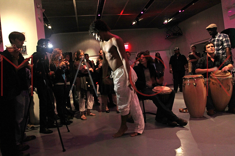 NEW YORK, NY - SEPTEMBER 28:  Justin Morel performs at a Night of Art Music to benefit Haiti at the Red Bull Space on September 28, 2011 in New York City.  (Photo by Steve Mack/S.D. Mack Pictures) *** Local Caption *** Justin Morel