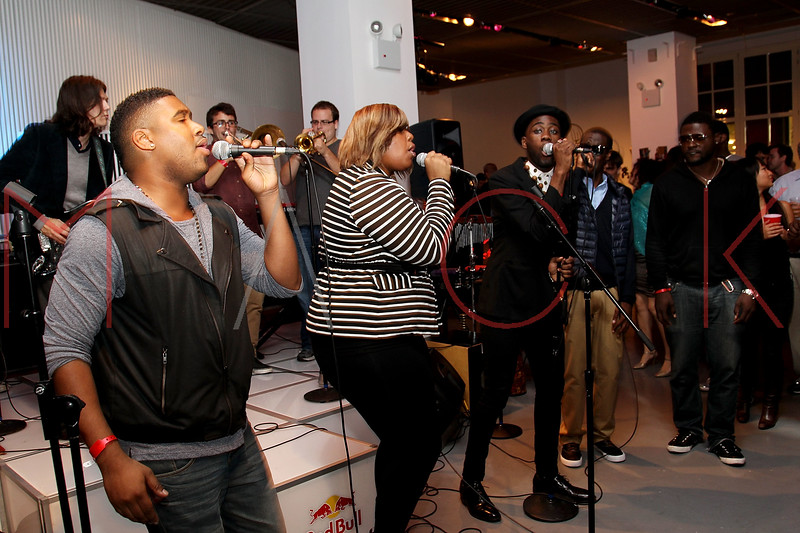NEW YORK, NY - SEPTEMBER 28:  Musicians perform at a Night of Art Music to benefit Haiti at the Red Bull Space on September 28, 2011 in New York City.  (Photo by Steve Mack/S.D. Mack Pictures)