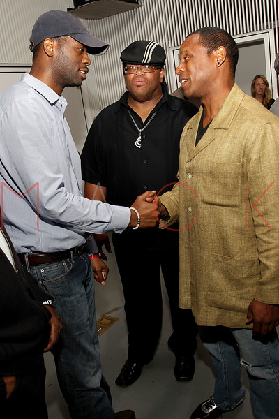 "NEW YORK, NY - SEPTEMBER 28:  Pras of ""The Fugees"", T Dynasty and Master Gee of ""The Sugar Hill Gang""  attend a Night of Art Music to benefit Haiti at the Red Bull Space on September 28, 2011 in New York City.  (Photo by Steve Mack/S.D. Mack Pictures) *** Local Caption *** Pras; T Dynasty; Master Gee"
