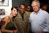 NEW YORK, NY - SEPTEMBER 28:  Guest, Master Gee and owner of Premier studios Sandy Schneiderman attend a Night of Art Music to benefit Haiti at the Red Bull Space on September 28, 2011 in New York City.  (Photo by Steve Mack/S.D. Mack Pictures) *** Local Caption *** Master Gee; Sandy Schneiderman