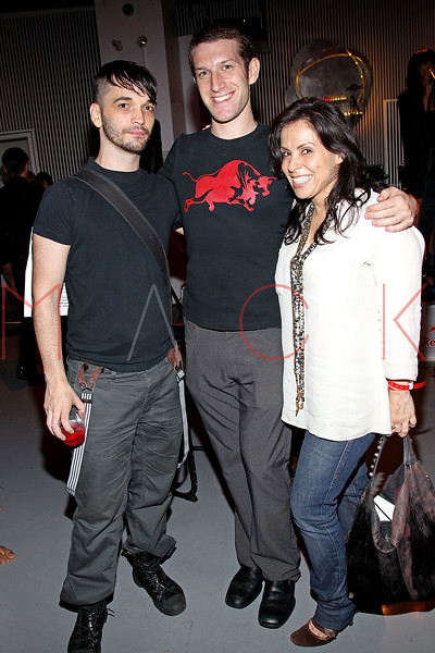 NEW YORK, NY - SEPTEMBER 28:  Matthew Neff, Ross Schwartz and Kathrine Hollander attend a Night of Art Music to benefit Haiti at the Red Bull Space on September 28, 2011 in New York City.  (Photo by Steve Mack/S.D. Mack Pictures) *** Local Caption *** Matthew Neff; Ross Schwartz; Kathrine Hollander