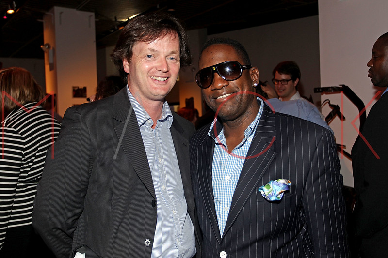 NEW YORK, NY - SEPTEMBER 28:  Richard Britain and Mike Jean attend a Night of Art Music to benefit Haiti at the Red Bull Space on September 28, 2011 in New York City.  (Photo by Steve Mack/S.D. Mack Pictures) *** Local Caption *** Richard Britain; Mike Jean