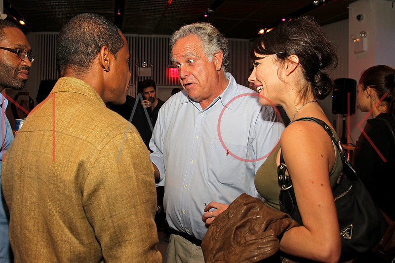 NEW YORK, NY - SEPTEMBER 28:  Master Gee, owner of Premier studios Sandy Schneiderman and guest attend a Night of Art Music to benefit Haiti at the Red Bull Space on September 28, 2011 in New York City.  (Photo by Steve Mack/S.D. Mack Pictures) *** Local Caption *** Master Gee; Sandy Schneiderman