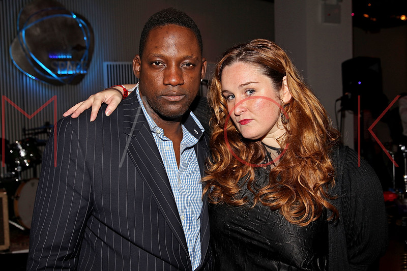 NEW YORK, NY - SEPTEMBER 28:  Mike Jean and Shawna Doherty attend a Night of Art Music to benefit Haiti at the Red Bull Space on September 28, 2011 in New York City.  (Photo by Steve Mack/S.D. Mack Pictures) *** Local Caption *** Mike Jean; Shawna Doherty