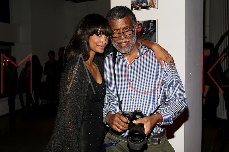 NEW YORK, NY - SEPTEMBER 28:  Monica Watkins and Daniel Morel attend a Night of Art Music to benefit Haiti at the Red Bull Space on September 28, 2011 in New York City.  (Photo by Steve Mack/S.D. Mack Pictures) *** Local Caption *** Monica Watkins; Daniel Morel