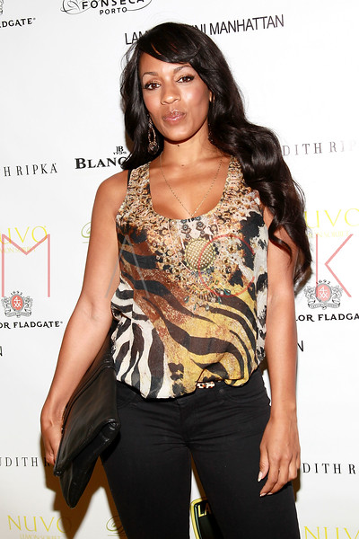 NEW YORK, NY - SEPTEMBER 20:  Melyssa Ford attends the Lamborghini LP700-4 Aventador unveiling and Nuvo Lemon Sorbet launch at Manhattan Motorcars on September 20, 2011 in New York City.  (Photo by Steve Mack/S.D. Mack Pictures) *** Local Caption *** Melyssa Ford