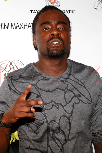 NEW YORK, NY - SEPTEMBER 20:  Recording artist Wale attends the Lamborghini LP700-4 Aventador unveiling and Nuvo Lemon Sorbet launch at Manhattan Motorcars on September 20, 2011 in New York City.  (Photo by Steve Mack/S.D. Mack Pictures) *** Local Caption *** Wale
