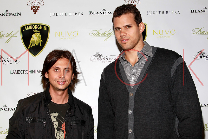 NEW YORK, NY - SEPTEMBER 20:  Jonathan Cheban and Kris Humphries attend the Lamborghini LP700-4 Aventador unveiling and Nuvo Lemon Sorbet launch at Manhattan Motorcars on September 20, 2011 in New York City.  (Photo by Steve Mack/S.D. Mack Pictures) *** Local Caption *** Jonathan Cheban; Kris Humphries