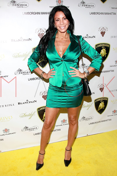NEW YORK, NY - SEPTEMBER 20:  Danielle Staub attends the Lamborghini LP700-4 Aventador unveiling and Nuvo Lemon Sorbet launch at Manhattan Motorcars on September 20, 2011 in New York City.  (Photo by Steve Mack/S.D. Mack Pictures) *** Local Caption *** Danielle Staub