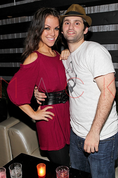 "NEW YORK, NY - SEPTEMBER 30:  Actor Stephen FontanaÊ(R) and his wife Lane Mowbray attend the ""Stuck in the Middle"" premiere after party at Lair Lounge on September 30, 2011 in New York City.  (Photo by Steve Mack/S.D. Mack Pictures) *** Local Caption *** Lane Mowbray; Stephen Fontana"