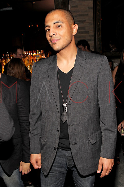 """NEW YORK, NY - SEPTEMBER 30:  Stan up comic Eman Morgan attends the """"Stuck in the Middle"""" premiere after party at Lair Lounge on September 30, 2011 in New York City.  (Photo by Steve Mack/S.D. Mack Pictures) *** Local Caption *** Eman Morgan"""