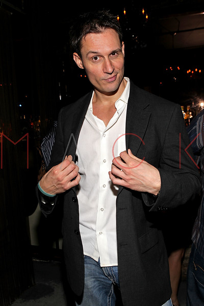 """NEW YORK, NY - SEPTEMBER 30:  Actor Keith Collins attends the """"Stuck in the Middle"""" premiere after party at Lair Lounge on September 30, 2011 in New York City.  (Photo by Steve Mack/S.D. Mack Pictures) *** Local Caption *** Keith Collins"""