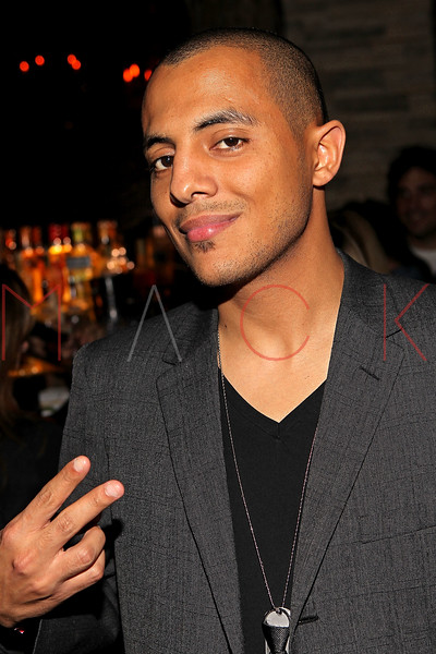 "NEW YORK, NY - SEPTEMBER 30:  Stan up comic Eman Morgan attends the ""Stuck in the Middle"" premiere after party at Lair Lounge on September 30, 2011 in New York City.  (Photo by Steve Mack/S.D. Mack Pictures) *** Local Caption *** Eman Morgan"