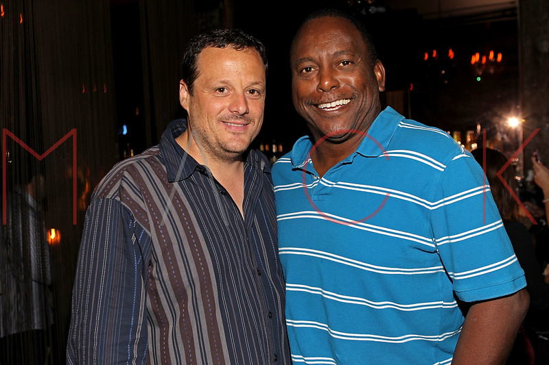 "NEW YORK, NY - SEPTEMBER 30:  Producer Jeff Quinlan and Former professional baseball player who played in the Major Leagues Billy Sample attend the ""Stuck in the Middle"" premiere after party at Lair Lounge on September 30, 2011 in New York City.  (Photo by Steve Mack/S.D. Mack Pictures) *** Local Caption *** Jeff Quinlan; Billy Sample"