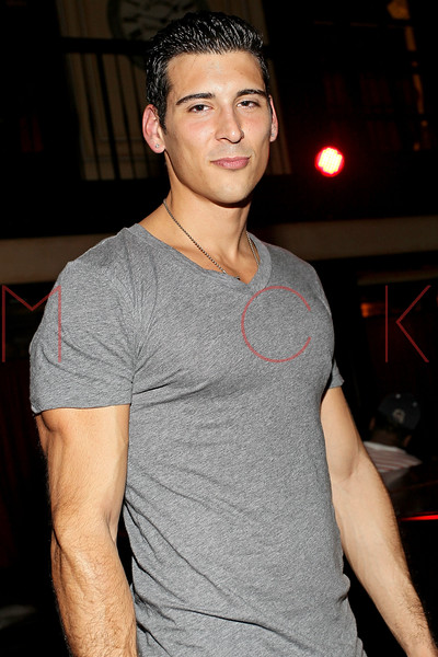 NEW YORK, NY - SEPTEMBER 30:  Model Aaron Toscher attends Johnny Donovan's 25th Birthday celebration at Millesime Club at Millesime Restaurant on September 30, 2011 in New York City.  (Photo by Steve Mack/S.D. Mack Pictures) *** Local Caption *** Aaron Toscher