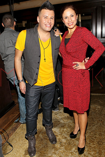 NEW YORK, NY - SEPTEMBER 30:  Johnny Donovan and VIVE Katerin attend Johnny Donovan's 25th Birthday celebration at Millesime Club at Millesime Restaurant on September 30, 2011 in New York City.  (Photo by Steve Mack/S.D. Mack Pictures) *** Local Caption *** Johnny Donovan; VIVE Katerin