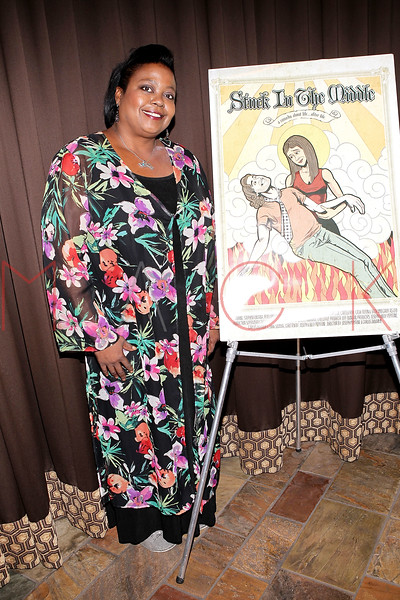 """NEW YORK, NY - SEPTEMBER 30:  Actress Evonne Walton attends the premiere of """"Stuck in the Middle"""" at Tribeca Grand Screening Room on September 30, 2011 in New York City.  (Photo by Steve Mack/S.D. Mack Pictures) *** Local Caption *** Evonne Walton"""
