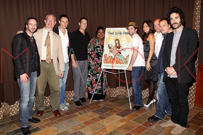 "NEW YORK, NY - SEPTEMBER 30:  Co Director Joseph Pepitone, actors Cash Tilton, Keith Collins, Jack Mulcahy, Evonne Walton, Stephen Fontana, Penelope Lagos, John Camera, producer Jeff Quinlan and co-director Carlos Duhaime attends the premiere of ""Stuck in the Middle"" at Tribeca Grand Screening Room on September 30, 2011 in New York City.  (Photo by Steve Mack/S.D. Mack Pictures) *** Local Caption *** Joseph Pepitone; Cash Tilton; Keith Collins; Jack Mulcahy; Evonne Walton; Stephen Fontana; Penelope Lagos; John Camera; Jeff Quinlan; Carlos Duhaime"