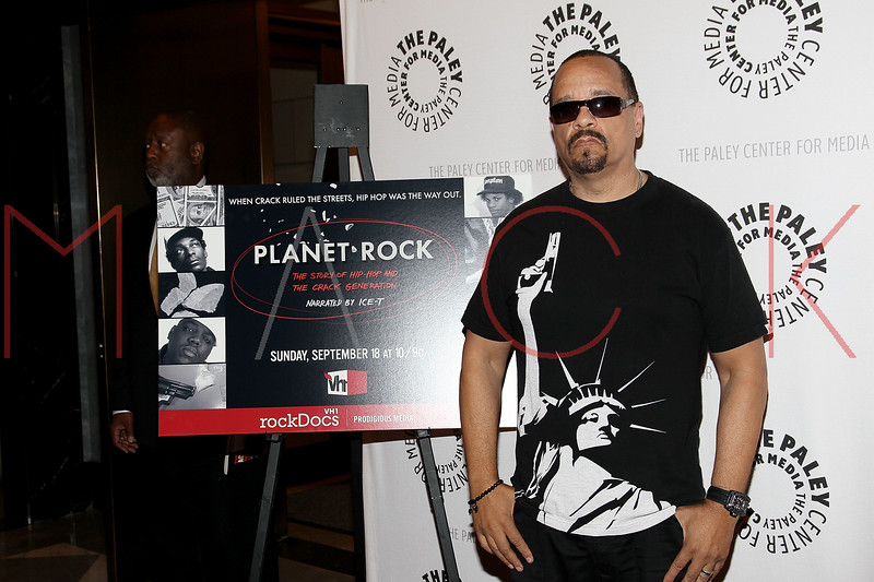 """NEW YORK, NY - SEPTEMBER 12:  Ice-T attends The Paley Center For Media Presents """"Planet Rock: The Story of Hip-Hop & the Crack Generation"""" at The Paley Center for Media on September 12, 2011 in New York City.  (Photo by Steve Mack/S.D. Mack Pictures) *** Local Caption *** Ice-T"""