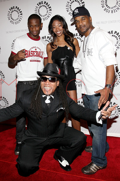 """NEW YORK, NY - SEPTEMBER 12:  King Russ, Melle Mel, Nina Simone, and Rockk Nelson attend The Paley Center For Media Presents """"Planet Rock: The Story of Hip-Hop & the Crack Generation"""" at The Paley Center for Media on September 12, 2011 in New York City.  (Photo by Steve Mack/S.D. Mack Pictures) *** Local Caption *** King Russ; Melle Mel; Nina Simone; Rockk Nelson"""