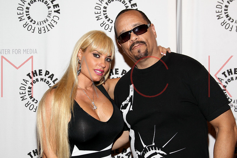 """NEW YORK, NY - SEPTEMBER 12:  Coco and Ice-T attend The Paley Center For Media Presents """"Planet Rock: The Story of Hip-Hop & the Crack Generation"""" at The Paley Center for Media on September 12, 2011 in New York City.  (Photo by Steve Mack/S.D. Mack Pictures) *** Local Caption *** Coco; Ice-T"""