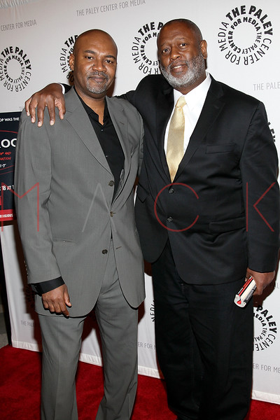 """NEW YORK, NY - SEPTEMBER 12:  Nelson George and Barry Michael Cooper attend The Paley Center For Media Presents """"Planet Rock: The Story of Hip-Hop & the Crack Generation"""" at The Paley Center for Media on September 12, 2011 in New York City.  (Photo by Steve Mack/S.D. Mack Pictures) *** Local Caption *** Nelson George; Barry Michael Cooper"""