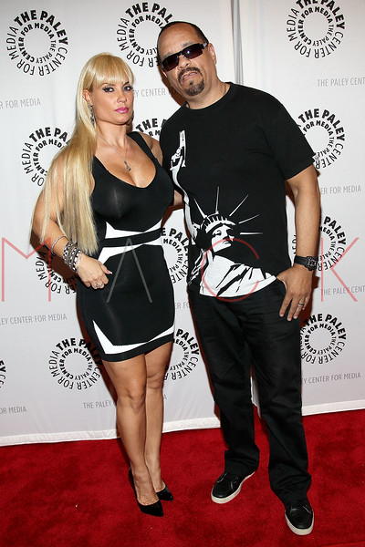 "NEW YORK, NY - SEPTEMBER 12:  Coco and Ice-T attend The Paley Center For Media Presents ""Planet Rock: The Story of Hip-Hop & the Crack Generation"" at The Paley Center for Media on September 12, 2011 in New York City.  (Photo by Steve Mack/S.D. Mack Pictures) *** Local Caption *** Coco; Ice-T"