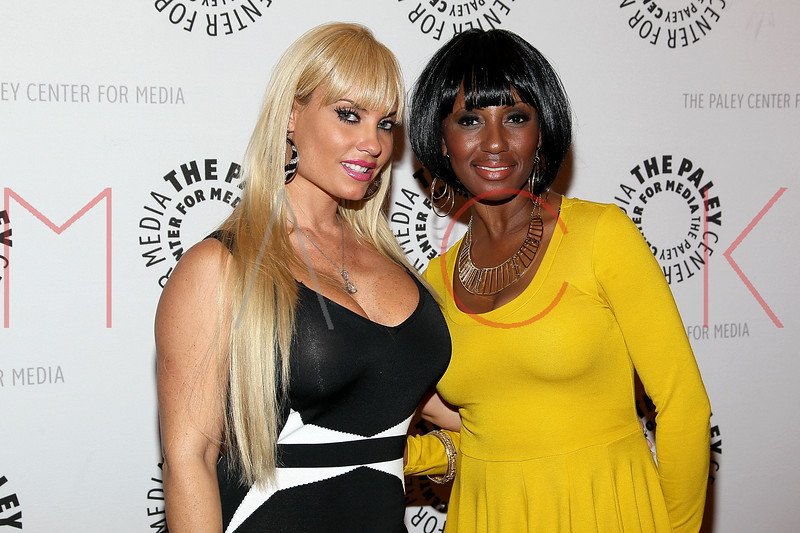 "NEW YORK, NY - SEPTEMBER 12:  Coco and Tonja Styles attend The Paley Center For Media Presents ""Planet Rock: The Story of Hip-Hop & the Crack Generation"" at The Paley Center for Media on September 12, 2011 in New York City.  (Photo by Steve Mack/S.D. Mack Pictures) *** Local Caption *** Coco; Tonja Styles"