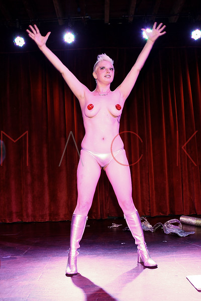 NEW YORK, NY - SEPTEMBER 29:  Winner of Miss Coney Island Pagent 2010 Lefty Lucy performs her routine at the Teaser Party kick off during the 9th annual New York Burlesque Festival at The Bell House on September 29, 2011 in the Brooklyn borough of New York City.  (Photo by Steve Mack/S.D. Mack Pictures) *** Local Caption *** Lefty Lucy