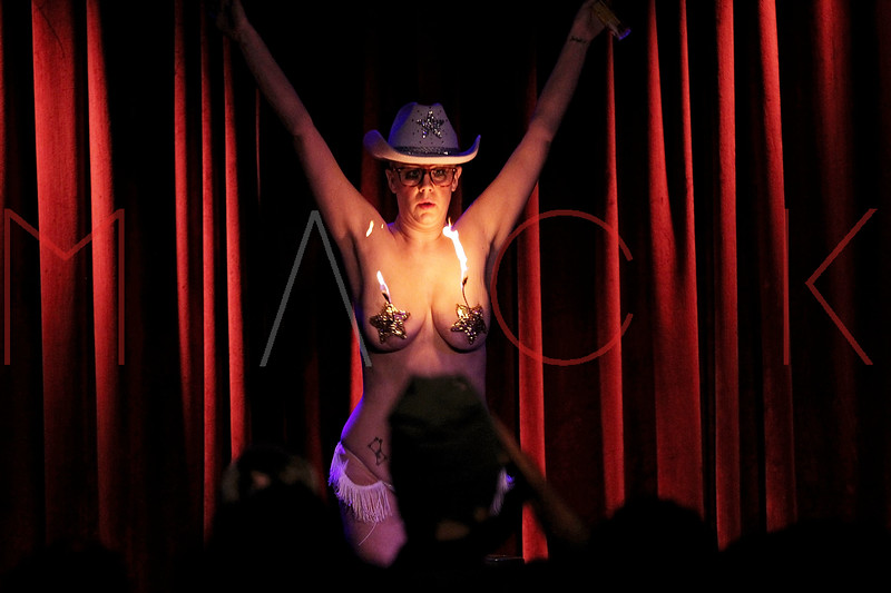 NEW YORK, NY - SEPTEMBER 29:  Bambi performs her routine at the Teaser Party kick off during the 9th annual New York Burlesque Festival at The Bell House on September 29, 2011 in the Brooklyn borough of New York City.  (Photo by Steve Mack/S.D. Mack Pictures) *** Local Caption *** Bambi