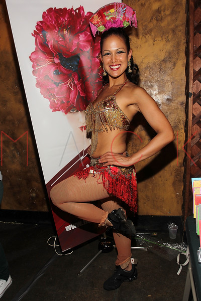 NEW YORK, NY - SEPTEMBER 29:  A model poses at the Teaser Party kick off during the 9th annual New York Burlesque Festival at The Bell House on September 29, 2011 in the Brooklyn borough of New York City.  (Photo by Steve Mack/S.D. Mack Pictures)