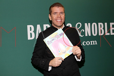 "NEW YORK, NY - SEPTEMBER 06:  Perez Hilton promotes ""The Boy With Pink Hair"" at the Barnes & Noble Union Square on September 6, 2011 in New York City."