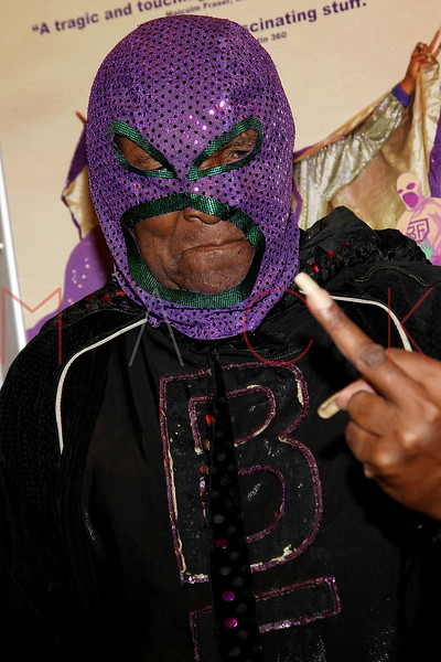 "NEW YORK, NY - SEPTEMBER 16:  Rap legend Clarence ""BLOWFLY"" Reid attends the ""The Weird World of Blowfly"" premiere at the Quad Cinema on September 16, 2011 in New York City.  (Photo by Steve Mack/S.D. Mack Pictures) *** Local Caption *** Clarence ""BLOWFLY"" Reid"