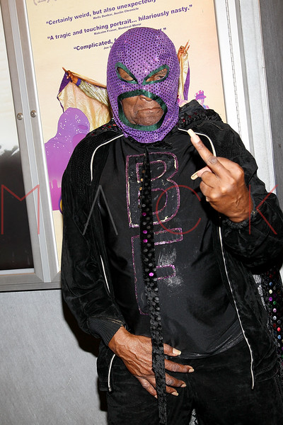 """NEW YORK, NY - SEPTEMBER 16:  Rap legend Clarence """"BLOWFLY"""" Reid attends the """"The Weird World of Blowfly"""" premiere at the Quad Cinema on September 16, 2011 in New York City.  (Photo by Steve Mack/S.D. Mack Pictures) *** Local Caption *** Clarence """"BLOWFLY"""" Reid"""