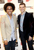 NEW YORK, NY - SEPTEMBER 08:  Justin Fenner and Nick Reynolds at Saks Fifth Avenue on September 8, 2011 in New York City.  (Photo by Steve Mack/Getty Images for Vogue) *** Local Caption *** Justin Fenner; Nick Reynolds