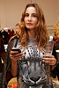 NEW YORK, NY - SEPTEMBER 08:  Ece Sukan at Saks Fifth Avenue on September 8, 2011 in New York City.  (Photo by Steve Mack/Getty Images for Vogue) *** Local Caption *** Ece Sukan