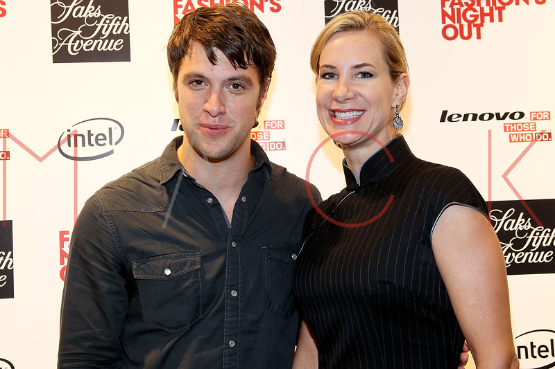 NEW YORK, NY - SEPTEMBER 08:  Shane McRae and Tracey Trachta at Saks Fifth Avenue on September 8, 2011 in New York City.  (Photo by Steve Mack/Getty Images for Vogue) *** Local Caption *** Shane McRae; Tracey Trachta