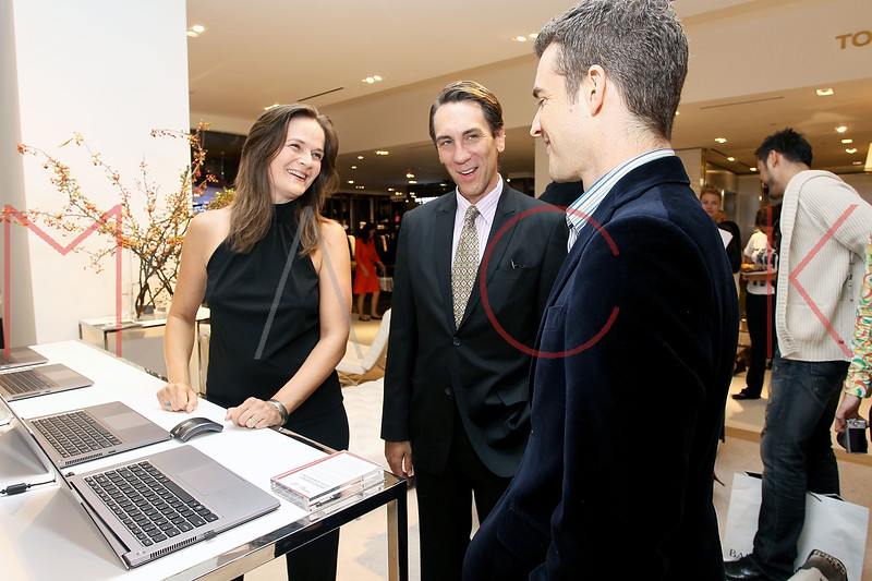 NEW YORK, NY - SEPTEMBER 08:  Enid Graham, Robert Sella and Nick Reynolds at Saks Fifth Avenue on September 8, 2011 in New York City.  (Photo by Steve Mack/Getty Images for Vogue) *** Local Caption *** Enid Graham; Robert Sella; Nick Reynolds