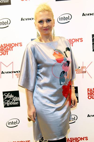 NEW YORK, NY - SEPTEMBER 08:  Liba Drdakova at Saks Fifth Avenue on September 8, 2011 in New York City.  (Photo by Steve Mack/Getty Images for Vogue) *** Local Caption *** Liba Drdakova