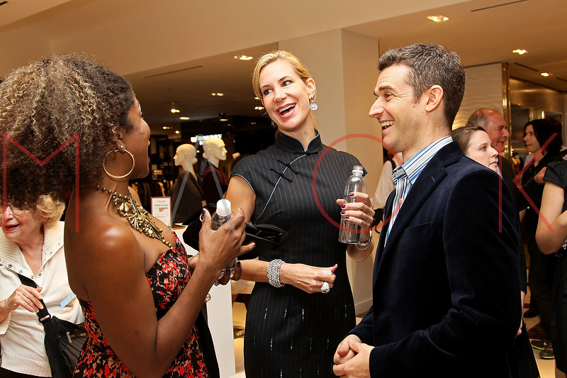 NEW YORK, NY - SEPTEMBER 08:  Sherida McMullan, Tracey Trachta and Nick Reynolds at Saks Fifth Avenue on September 8, 2011 in New York City.  (Photo by Steve Mack/Getty Images for Vogue) *** Local Caption *** Sherida McMullan; Tracey Trachta; Nick Reynolds