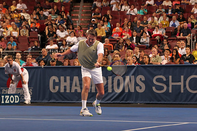 Champions Shootout on September 24, 2011 at the Wells Fargo Center in Philadelphia, Pennsylvania.