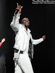 Akon performs on May 4, 2011 at The Dunkin Donuts Center in Providence, Rhode Island