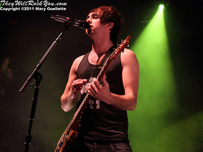 All Time Low bring their Dirty Work Tour to the House of Blues in Boston, MA on May 6, 2011